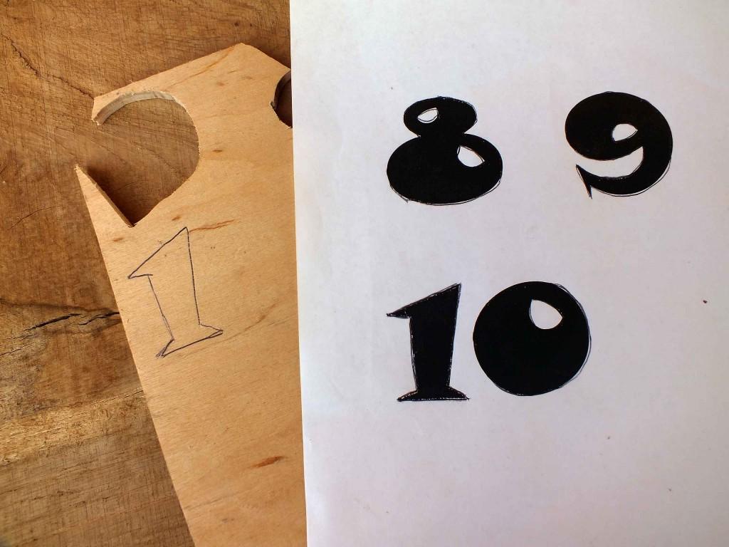 avilių numeravimas