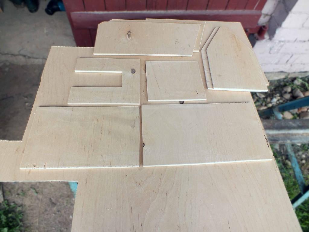 bitininko dėžės ruošiniai