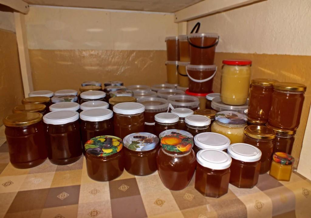 medus žiemai