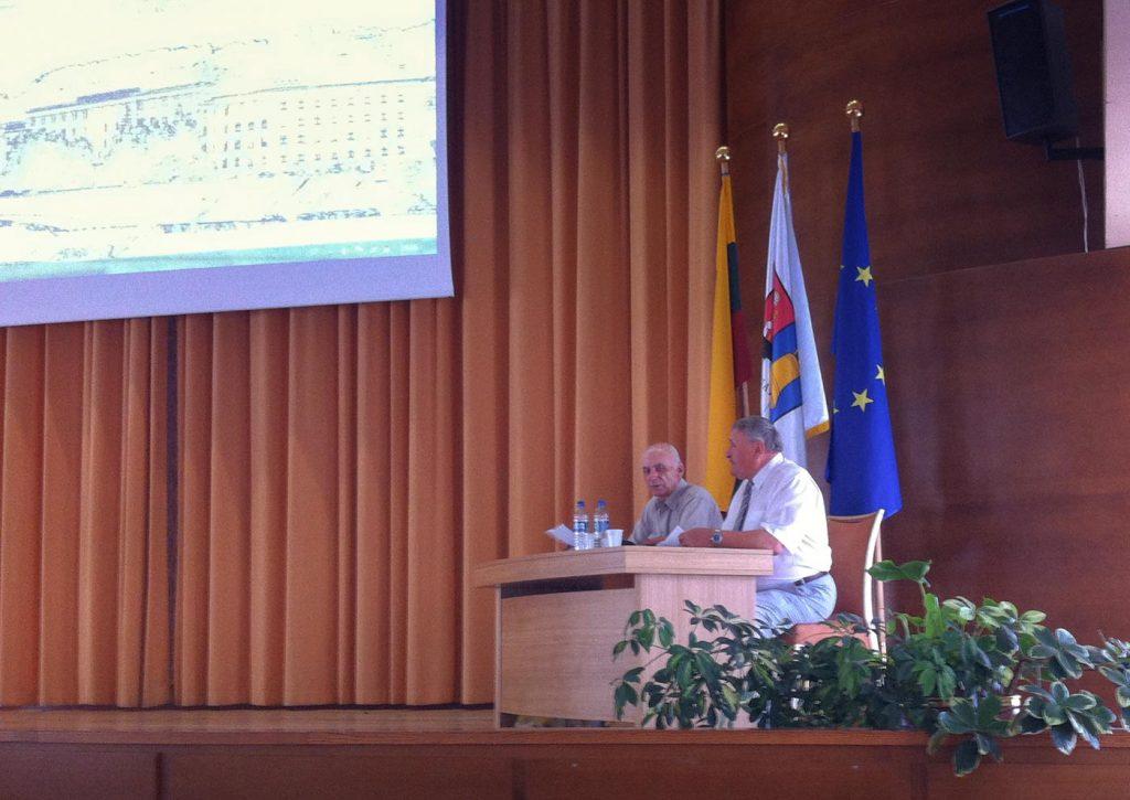 konferencija A.Skirkevičius K.Spietyla